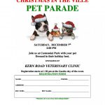 PET PARADE – Saturday December 7th Centennial Park