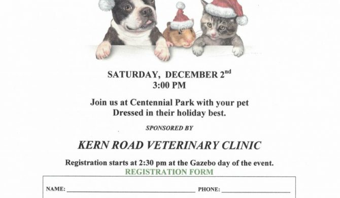 CHRISTMAS IN THE VILLE – PET PARADE