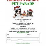 PET PARADE – Saturday December 7th Centennial Park